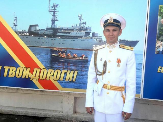 Первое офицерское звание Максима Чиркова