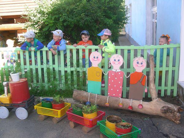 Как украсить площадку в детском саду своими руками зимой
